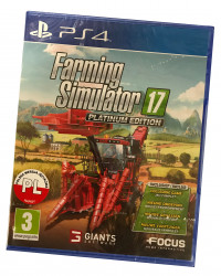Farming Simulator 17 Platinum Edition (PS4) PL