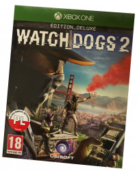 Watch Dogs 2 Deluxe Edition (XBOX ONE) PO POLSKU