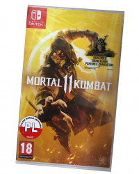 Mortal Kombat 11 (SWITCH) PO POLSKU