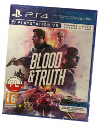 Blood and Truth VR (PS4) PO...