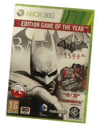 Batman Arkham City GOTY (X360) PO POLSKU