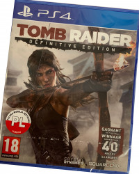 Tomb Raider : The Definitive Edition (PS4) PO POLSKU