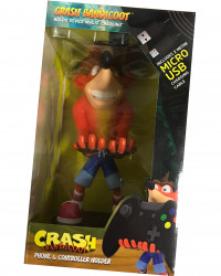 Figurka CRASH - stojak na kontroler + kabel USB
