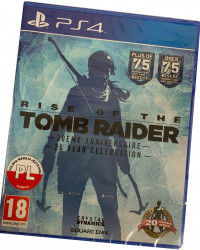 Rise of the Tomb Raider (PS4) PO POLSKU