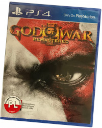 God of War III Remastered (PS4) PO POLSKU