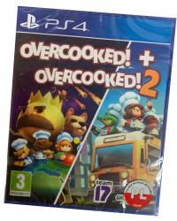 Overcooked + Overcooked 2 PL (PS4)