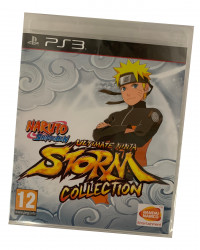 Naruto Shippuden: Ultimate Ninja Storm 1+2+3 (PS3)