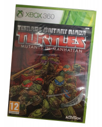 Teenage M.Ninja Turtles:Mutans In Manhattan (X360)