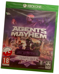 Agents of Mayhem (XBOX ONE)  PO POLSKU