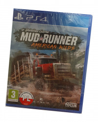 Spintires Mudrunner American Wilds Edition (PS4) PO POLSKU