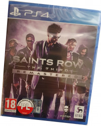 Saints Row: The Third Remastered (PS4) PO POLSKU