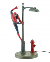 Lampa SpiderMan LED latarnia 33 cm