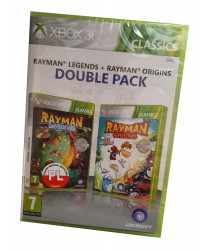 Rayman Legends PL + Rayman Origins ANG (XBOX ONE/X360)