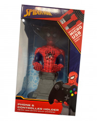 Figurka SPIDERMAN - stojak na kontroler+ kabel USB